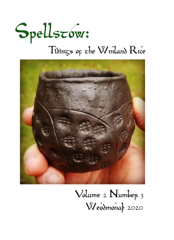 Spellstow Vol 2 No 3 Weodmonath 2020